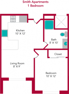 Smith_1Bdrm_Typical-