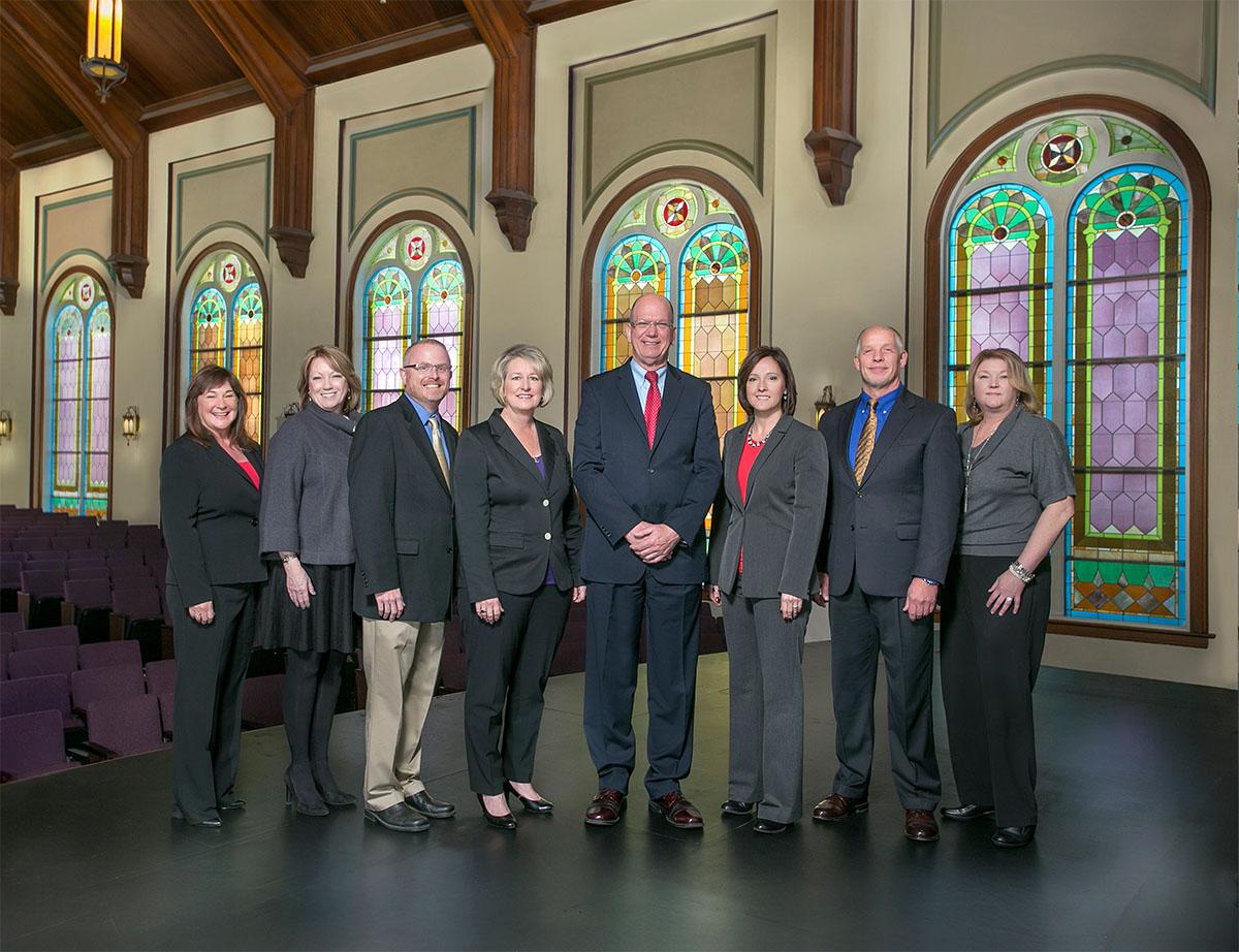 Friends University Cabinet Members