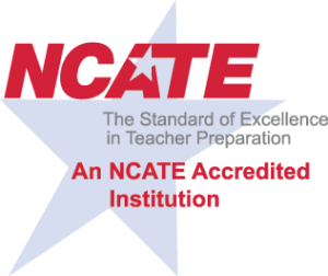 NCATE Accredited Institution Logo