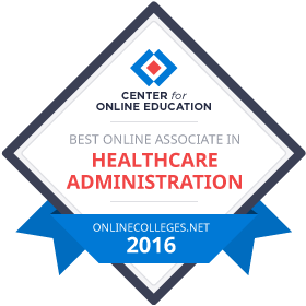 Healthcare Administration - Colleges of Distinction 2016 Best Online Associate in Healthcare Administration