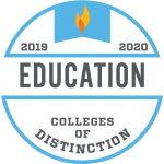2019-2020 Colleges of Distinction in Education