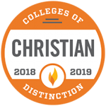 2018-2019 Colleges of Distinction - Christian