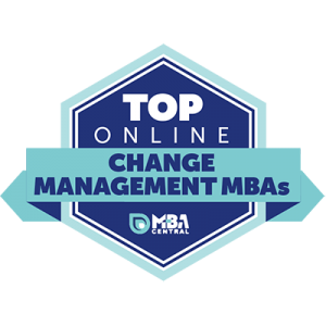 Online Change Management MBA program ranks at #7 in nation