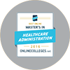 Online master's degree in Health Care Leadership ranks No. 22 in nation