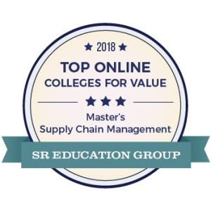 5th for Master's Degrees in Supply Chain Management
