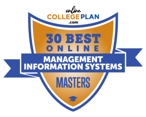 Master of Management Information System Program ranks at #5 in nation