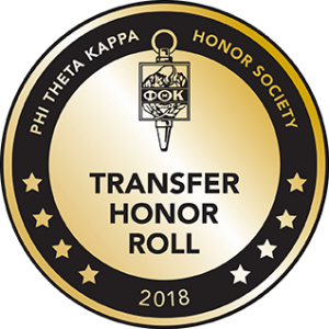 Friends Named to Phi Theta Kappa's 2018 Transfer Honor Roll
