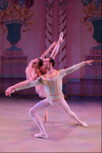 Maria Kowrowski and Tyler Angel. Principal Dancers from The New York City Ballet
