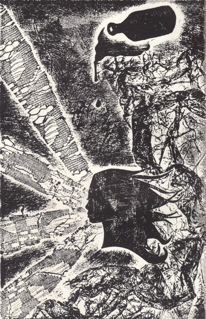 Collagraph by Cheyenne Cheek
