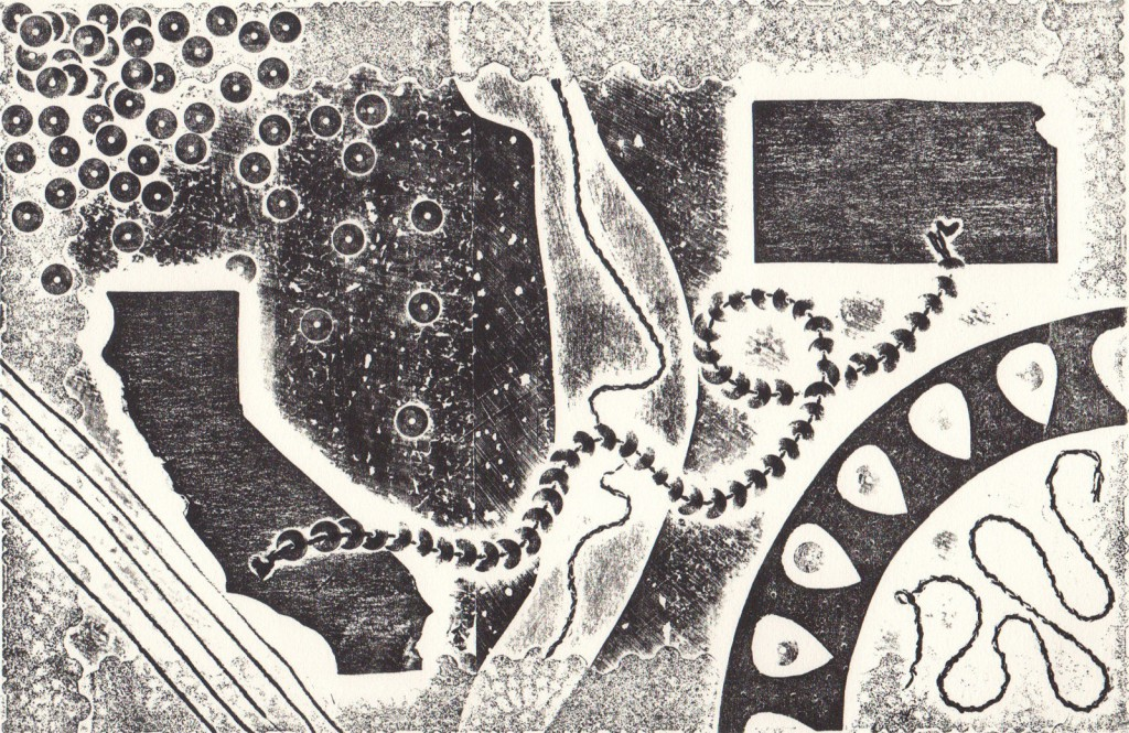 collagraph by Gonzalez