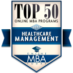 Online MBA with Health Care Leadership concentration ranked No. 27 in nation