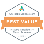 Master of Health Care Leadership ranks among top 30 programs in nation