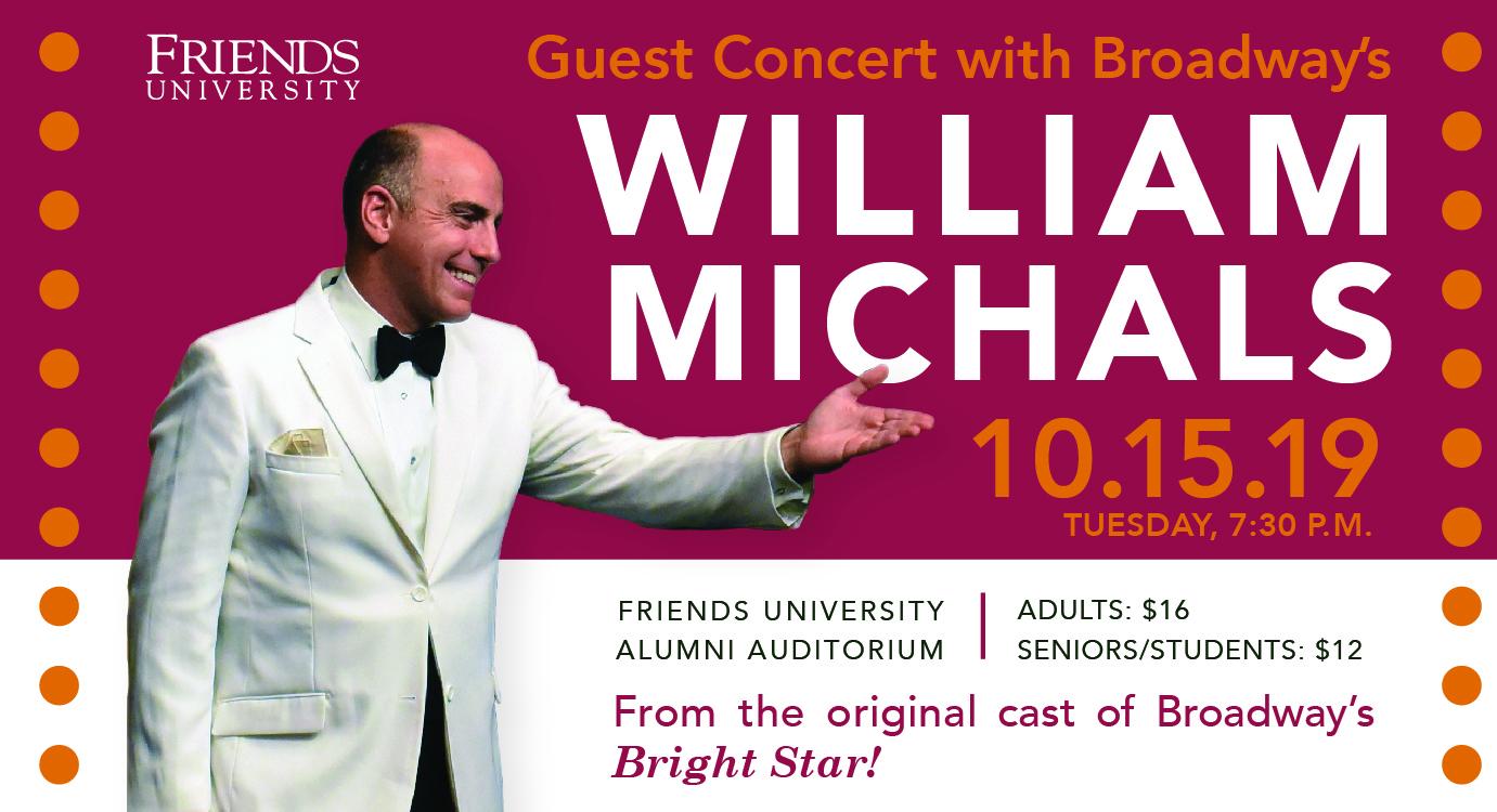 William Michals Guest Concert