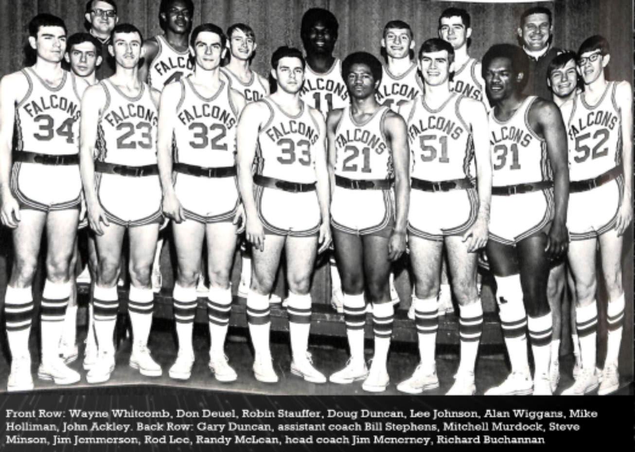 1968-69 Mens Basketball Team
